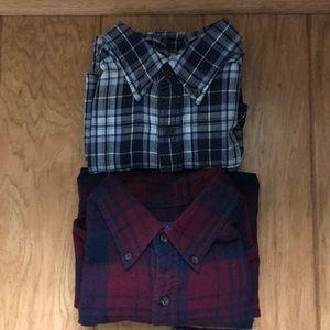 Men's Flannel Long Sleeve Shirts
